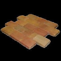 Abbeystones Sunset Terra 30x20x5 getrommeld (€125,95 pakket 10m2)