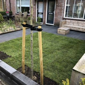Tuin in Wormer direct bestrating