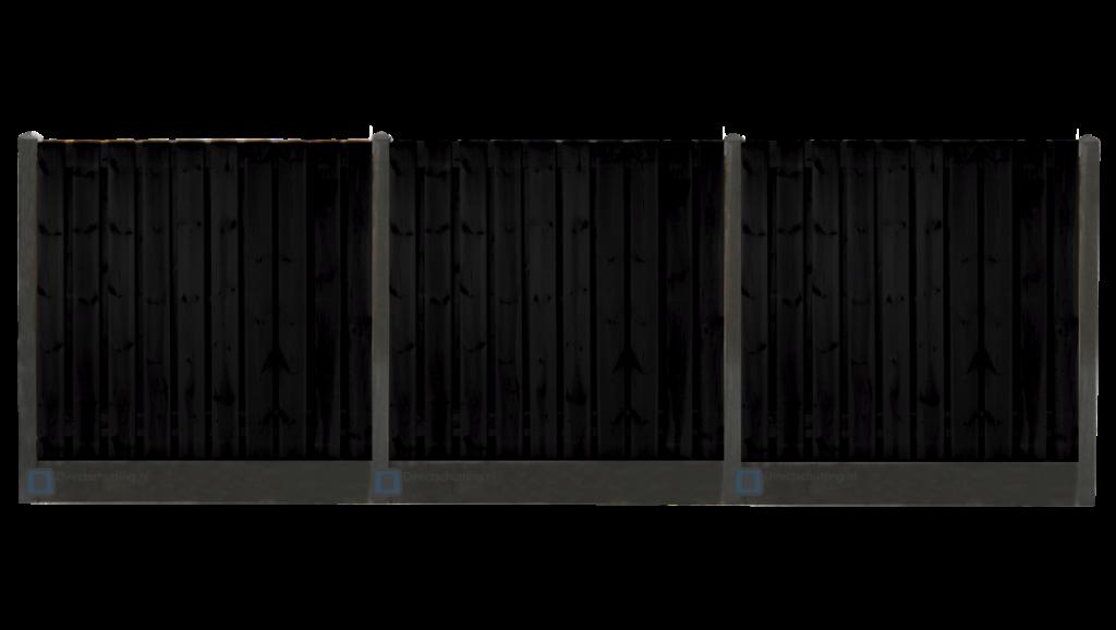 beton schutting zwart | Direct bestrating