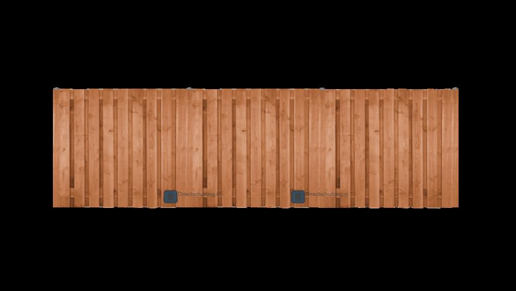 Schutting plaatsen met aanleg service-Douglas houten schutting | Direct bestrating