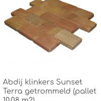 Abdij klinkers Sunset Terra