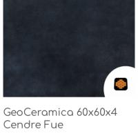 GeoCeramica 60x60x4 Cendre Fue