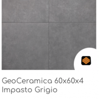GeoCeramica 60x60x4 Grigio