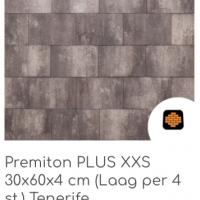 Premiton PLUS XXS 30x60x4 cm Tenerife