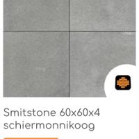 Smitstone 60x60x4 cm Schiermonnikoog