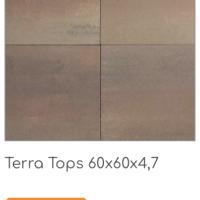 Terra Tops 60x60x4,7 cm