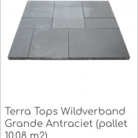 Terra Tops Wildverband Grande Antraciet