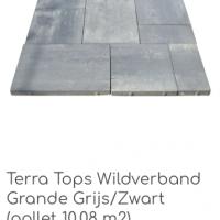 Terra Tops Wildverband Grande Grijs/Zwart