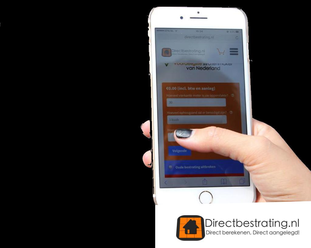 Direct bestrating | online uw bestrating berekenen