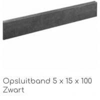 Opsluitband Antrac/Zwart 5x15x100cm € 2,80 per stuk