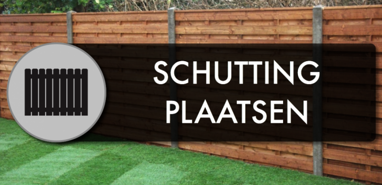 schutting plaatsen door Direct bestrating